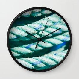 Nautical Rope II Wall Clock