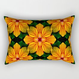 Tropical Garden of Love... Rectangular Pillow