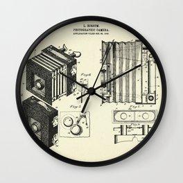 Photographic Camera-1903 Wall Clock