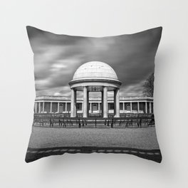 Bandstand at Eaton Park, Norwich, Norfolk Throw Pillow