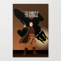 firefly Canvas Prints featuring FIREFLY by booj