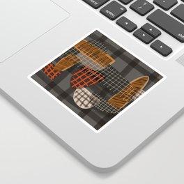 Grids 1 Sticker