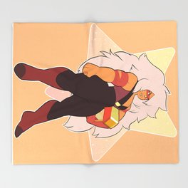 jasper-su Throw Blanket