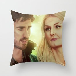 I'm not taking my eyes off you... Throw Pillow