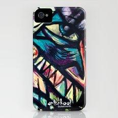 artist series skate graphic iPhone (4, 4s) Slim Case