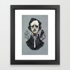 Mr. Poe  Framed Art Print