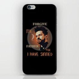 Preacher Jesse Custer - Forgive Me Father iPhone Skin