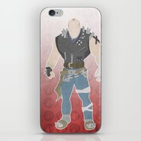 borderlands iPhone & iPod Skins featuring Borderlands 2 - Brick by LightningJinx