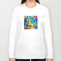 illusion Long Sleeve T-shirts featuring Illusion. by Assiyam