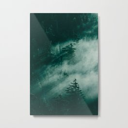 The Beckoning of the Unknown Metal Print