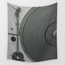 OLD SCHOOL VINYL VIBES Wall Tapestry