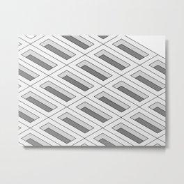 Boxes Metal Print