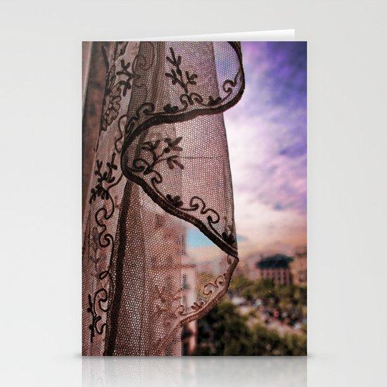 Gaudi's Window Stationery Cards