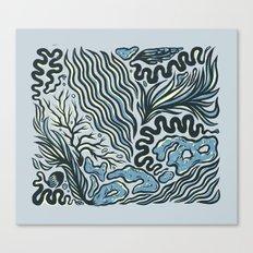 OCEAN CRUST Canvas Print
