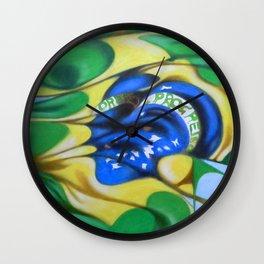 Ordem e Progresso Wall Clock