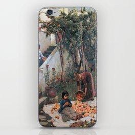 John William Waterhouse - The orange gatherers iPhone Skin