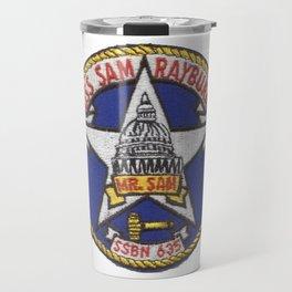 USS SAM RAYBURN (SSBN-635) PATCH Travel Mug