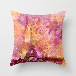 If you love Paris Throw Pillow
