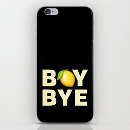 Boy Bye iPhone Skin