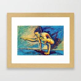 Jyoti (ज्योति) Framed Art Print
