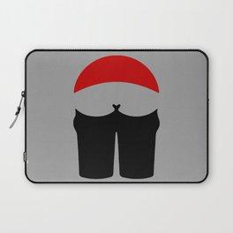 Buttocks butt ass anus traffic sign symbol  Laptop Sleeve