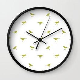 Birds Silhouette Print Wall Clock
