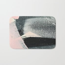 Blushing Black Bath Mat