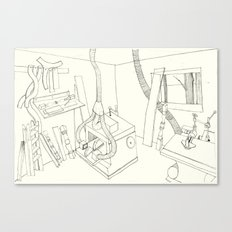 la mueblería de sigfredo Canvas Print