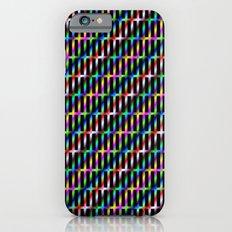 Diagonal Grid iPhone 6s Slim Case