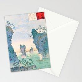 Kobayashi Kiyochika - Sketches of the Famous Sights of Japan - Matsushima - Digital Remastered Edition Stationery Cards