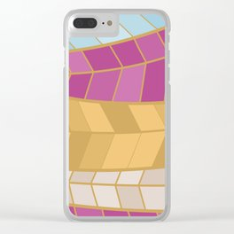 GOLDMOSAIC2 Clear iPhone Case