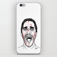 american psycho iPhone & iPod Skins featuring American Psycho. by Saul Art