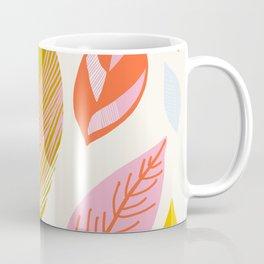 Timberlee, modern autumn leaves Coffee Mug