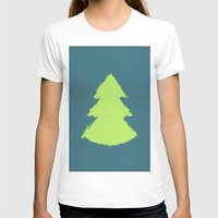 christmas tree T-shirts featuring (Christmas) Tree by Mr and Mrs Quirynen
