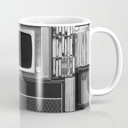 Everything Retro (Black and White) Coffee Mug