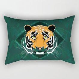 Tiger's day Rectangular Pillow