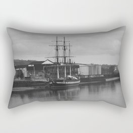 Famine Ship Dunbrody Rectangular Pillow