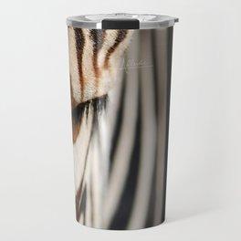 Zebra style Travel Mug