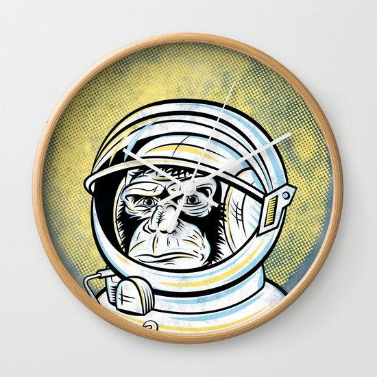 Space Ape Wall Clock