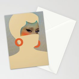 Fine lady # Stationery Cards