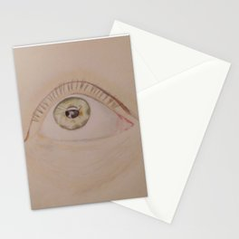 Open your beautiful eyes Stationery Cards