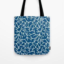 Branches - Blue Tote Bag
