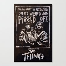 John Carpenter's The THING Canvas Print