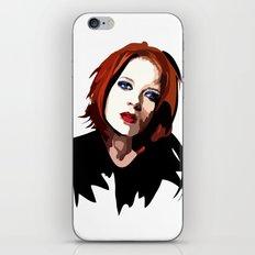 Shirley Manson iPhone & iPod Skin