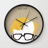 woody Wall Clocks featuring Woody by Geminianum