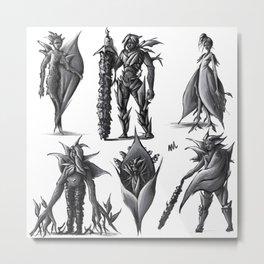 Flower Characters- Spatiphyllum Wallisii Metal Print