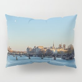 Pont des Arts and ile de la Cite Pillow Sham