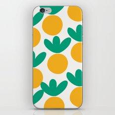 Minimalist Fruit Summer Pattern iPhone Skin