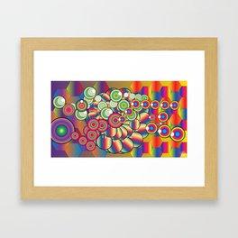 Chakra Dripper Framed Art Print
