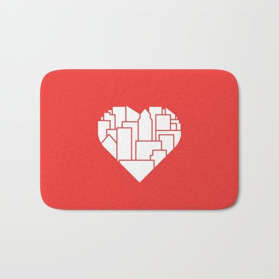 Heart of the City Redux Bath Mat